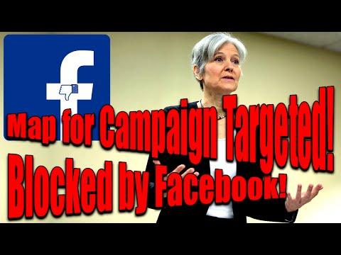 Facebook is Blocking Jill Stein Campaign