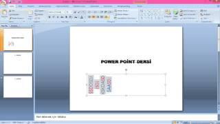 PowerPoint - Ders 1        (#Oğuzhan / 720P HD)