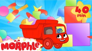 Color Shapes with Morphle - Shape Science | Cartoons for Kids | Mila and Morphle