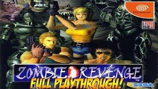 Dreamcast: Zombie Revenge! Full Playthrough! - YoVideogames