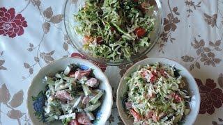 Самый вкусный и свежий весенний салат.