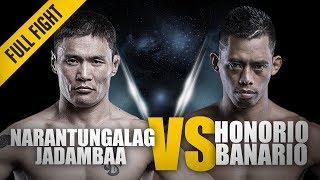 ONE: Full Fight   Narantungalag Jadambaa vs. Honorio Banario   Electrifying Back-And-Forth Battle