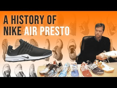 Nike Air Presto: A History Of Nike's Magical Shoe