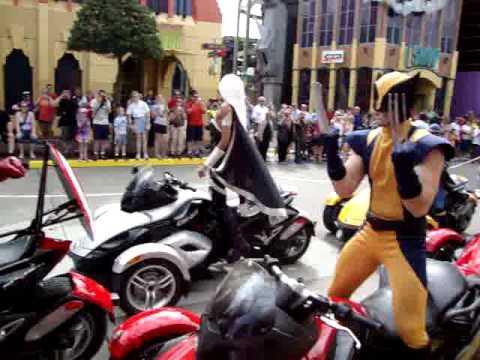 Desfile de super heróis