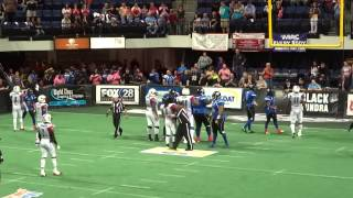 THE CEDAR RAPIDS TITANS DEFEAT THE TEXAS REVOLUTION!!