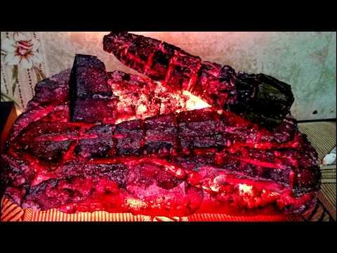 Муляж дров своими руками (имитация огня)imitation of burning wood