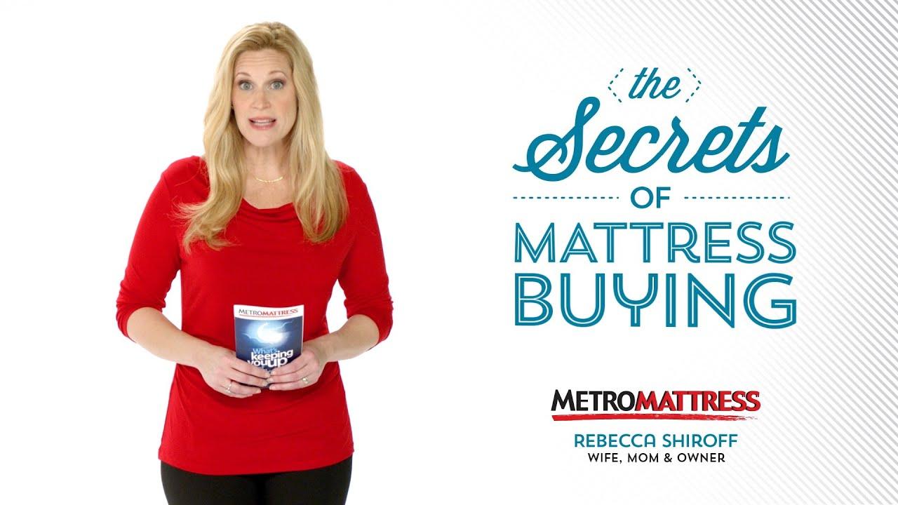 """Metro Mattress """"Mattress Buying Guide"""""""