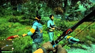 Far Cry 4 knife in ear