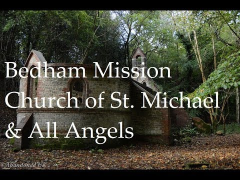 Urbex ~ Bedham Mission Church Of St  Michael And All Angels