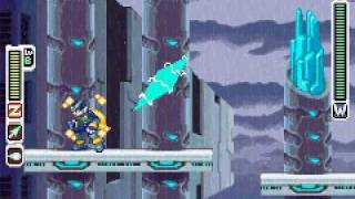Megaman Zero 4 Boss Battle(Hanging Garden, no damage)