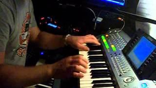 keyboard-Titiyo-longing for lullabies my cover synth techno dance(Motif xs Virus Ti Tyros)