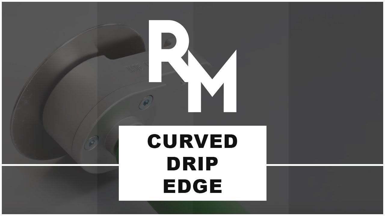 Learn How to Create a Curved Drip Edge