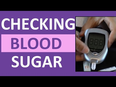 Checking Blood Sugar (Glucose) Level | How to Use a Glucometer (Glucose Meter)