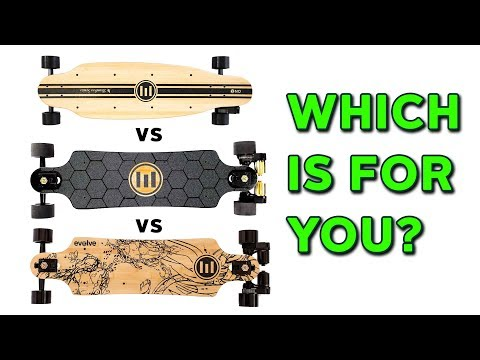 Evolve Bamboo Series Comparison - Evolve Skateboards Weekly Ep. 32