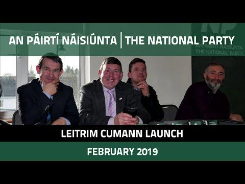 National Party Leitrim Cumann Launch
