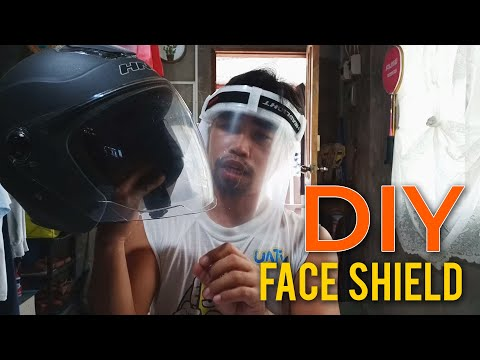 Video Thumbnail: DIY PPE | Face Shield | Sana Makatulong