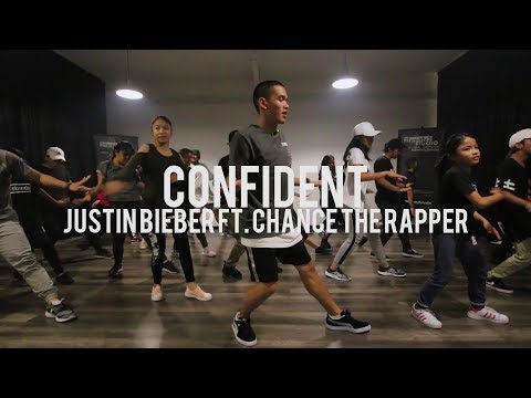 Confident  Justin Bieber ft Chance The Rapper  Beginner Class  Faruq Suhaimi Choreography