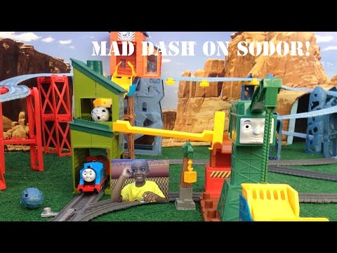 New Thomas & Friends 2014 Trackmaster Mad Dash On Sodor Unboxed And 1st Run Fun!