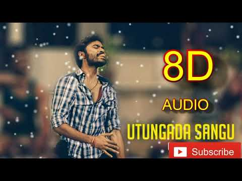 Udhungada Sangu 8D Song   Velaiyilla Pattathari Movie   Anirudh Musical   Use Headphone