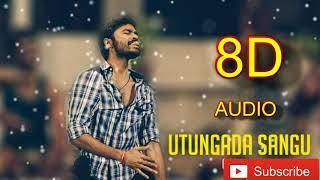 Cover images Udhungada Sangu 8D song | Velaiyilla Pattathari Movie | Anirudh Musical | Use Headphone