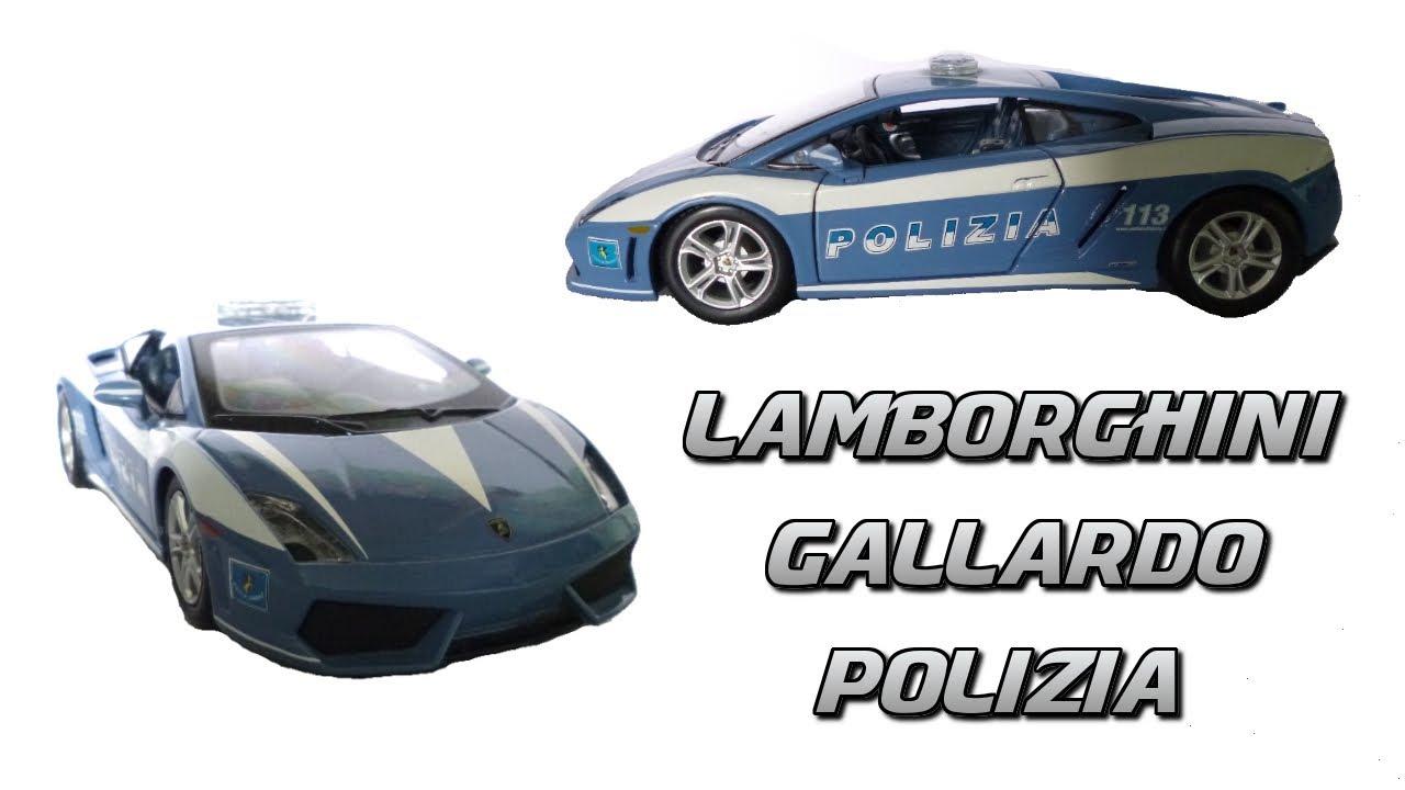 maisto lamborghini gallardo lp560-4 polizia