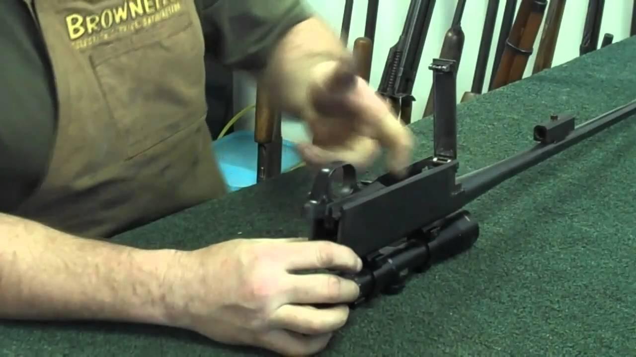 gunsmithing browning bar hunting rifle 30 06 gunworks youtube