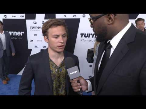 Turner Upfront 2017: Finn Cole on the Red Carpet