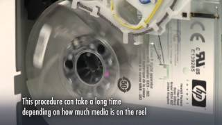 LTO Manual recovery of stuck tape