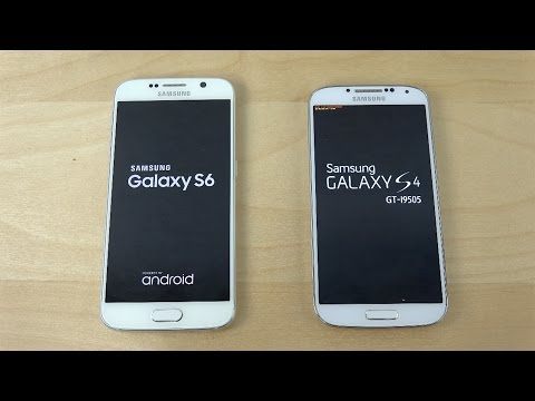Samsung Galaxy S6 vs. Samsung Galaxy S4 - Which Is Faster?