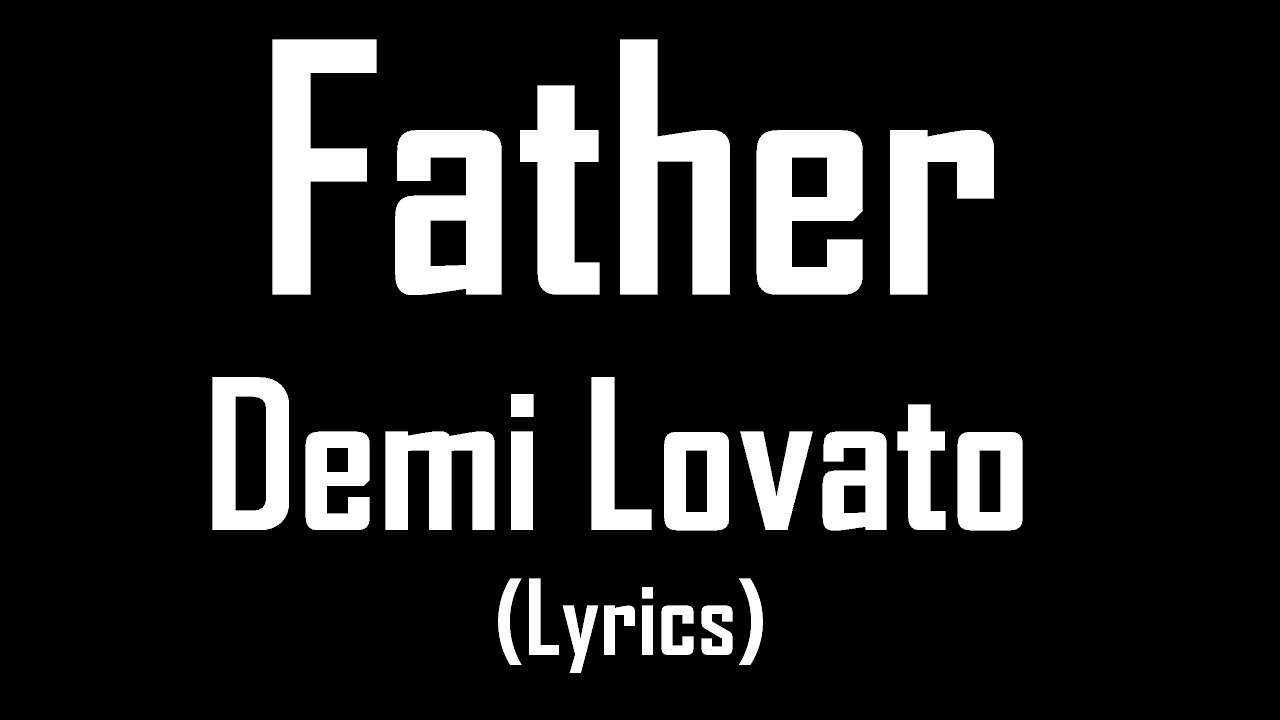 Demi lovato song with lyrics