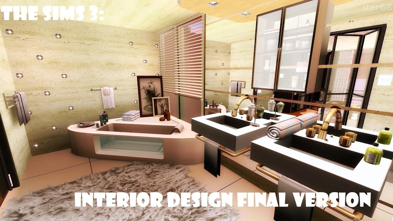 The sims 3 interior design final version youtube for Best house designs for the sims 3
