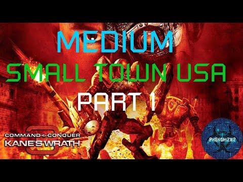 Command & Conquer 3: Kane's Wrath - Small Town USA [MEDIUM] 1-2 |