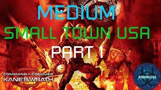 Command & Conquer 3: Kane's Wrath - Small Town USA [MEDIUM] 1-2
