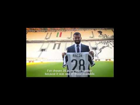 Presentación De Tomas Rincón Con La Juventus 2017