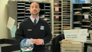 The Ellen Show Ellen's Post Office Spoof