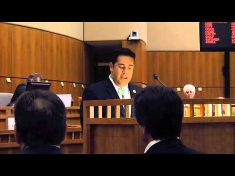 Congressman Ben Ray Lujan Addresses Joint Session