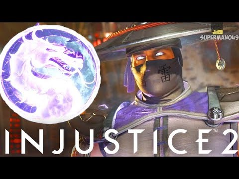 """Raiden Master Of Storms Epic Ability Is Awesome! - Injustice 2 """"Raiden"""" Gameplay"""
