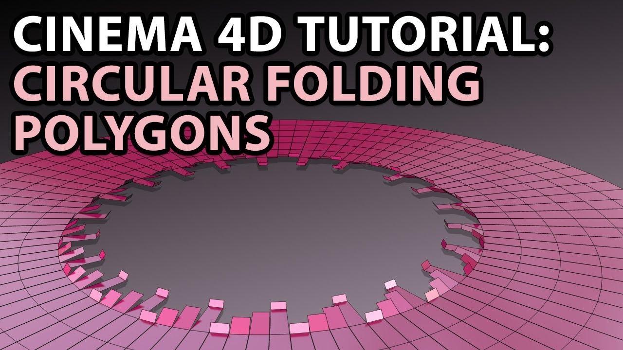 Cinema 4D Tutorial : MoGraph - Polygon Unfolding