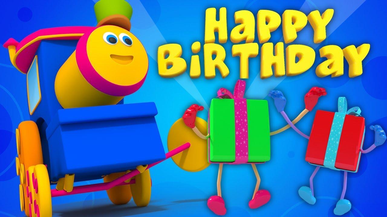 Bob il treno buon compleanno canzone filastrocche