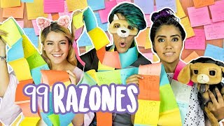 99 RAZONES PARA AMARLOS | LOS POLINESIOS VLOGS