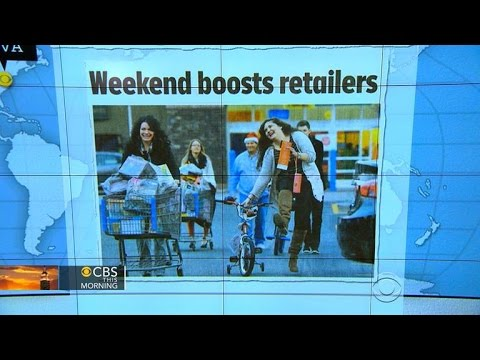 Headlines: Strong sales for retailers before Christmas