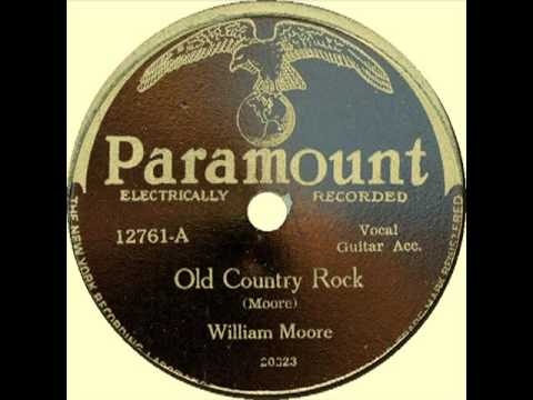 Old Country Rock (William Moore, January 1928) Ragtime Guitar Legend
