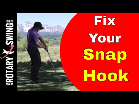 How to Fix the Snap Hook – The Reason WHY You're Hooking the Ball