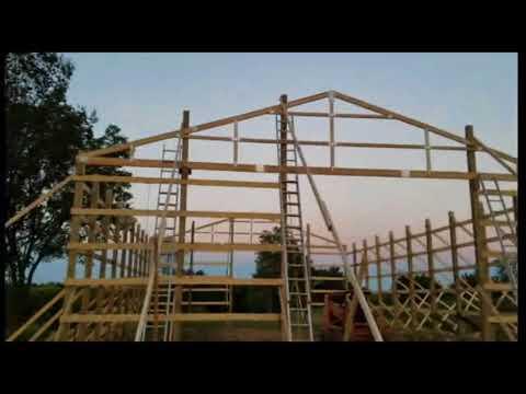 Menards 40x60 post frame building