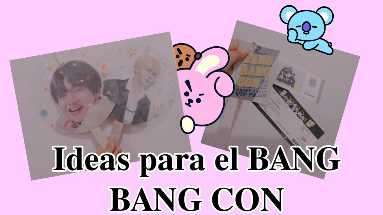 Ideas para el BANG BANG CON