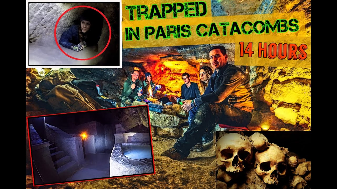 Urbex ⚒ Trapped in Paris Catacombs/Found the THRONE OF HUMAN BONES!