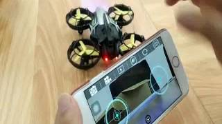 Optical flow drone