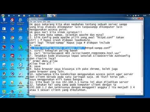 Membuat User di MySQL Agar bisa diakses dari Komputer Lain Untuk Keperluan Absensi Siswa davidnakoko.