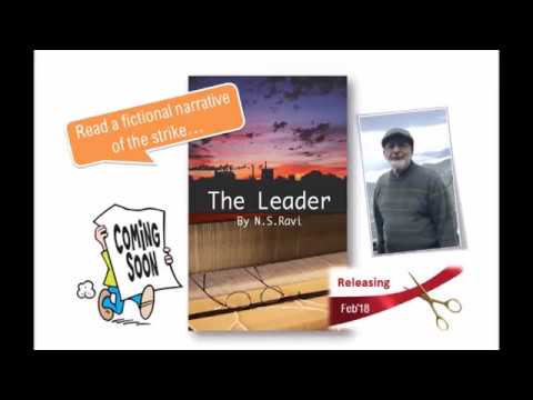 Book Trailer of The Leader by NS Ravi, powered by Literoma