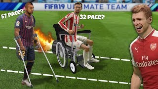 Slowest Players in FIFA 19 Speed Test